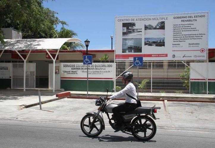 Los Centros de Adaptación Múltiple de Cancún serán rehabilitados para incluir áreas para el deporte adaptado. (Consuelo Javier/SIPSE)