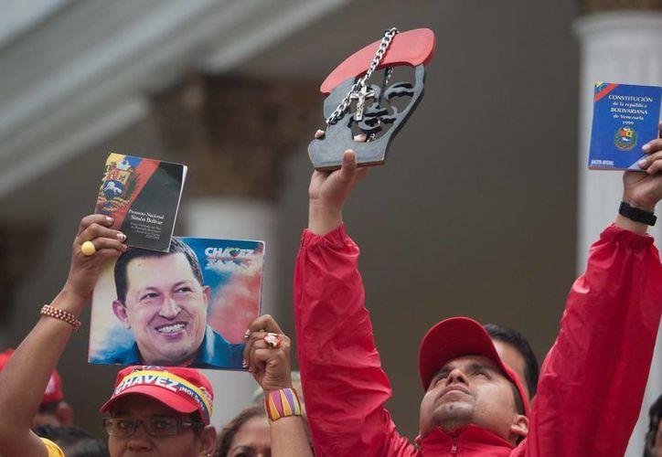 Hugo Chávez falleció el 5 de marzo del cáncer que padeció durante más de 20 meses. (EFE)