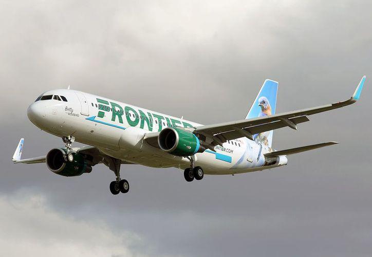 La aerolínea norteamericana, Frontier Airlines tendrá nuevo vuelo ahora a Cancún. (Foto: pinterest.com.mx)