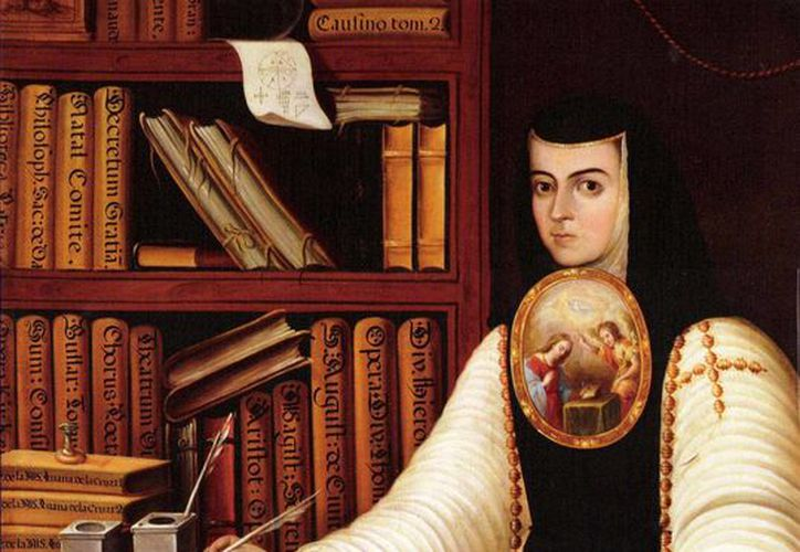 Sor Juana Inés de la Cruz estará presente en el Día Nacional del Libro. (Redacción/SIPSE)