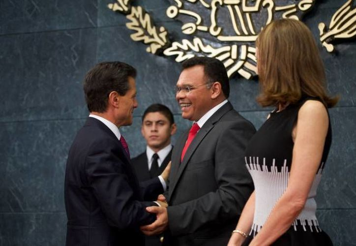 El gobernador Rolando Zapata estará este jueves en el evento de Día del Policía 2016. (SIPSE)