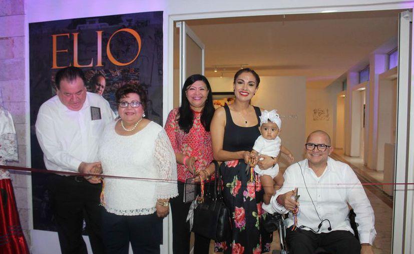 La inauguración de la exposición fue el pasado jueves. (Faride Cetina/SIPSE)