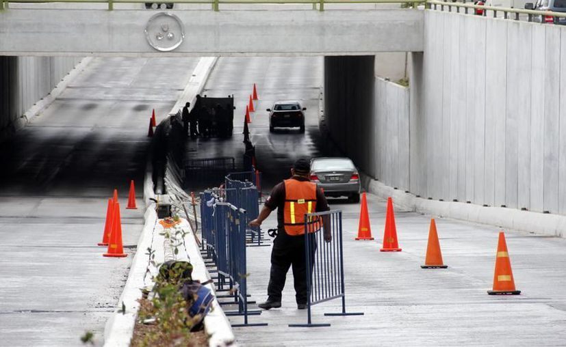 Hoy se efectuará el bloqueo total para realizar los trabajos. (SIPSE)