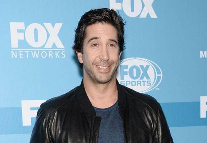 David Schwimmer, uno de los protagonistas de la serie 'Friends', celebra hoy su cumpleaños 49 y anunció su regreso a la televisión con una comedia. (Agencias/Archivo)