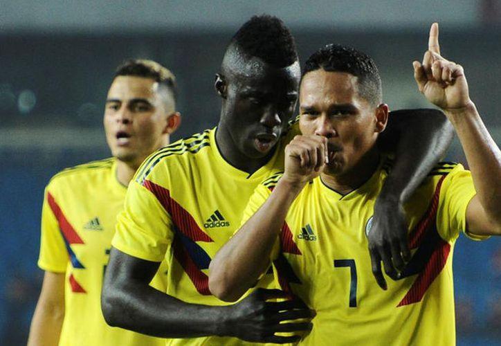 La selección colombiana ganó y goleó 4-0 a China, en el partido que cierra su gira por Asia. (Foto: Marca.com)