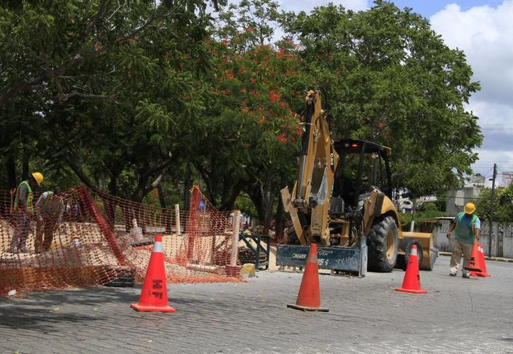 Las reparaciones podrían llegar a ocasionar interrupciones en el servicio de agua potable. (Tomás Álvarez/SIPSE)