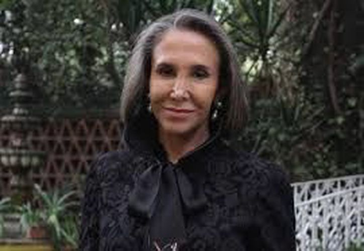 Florinda Meza tiene entre sus planes la realización de una pieza teatral. (Notimex)