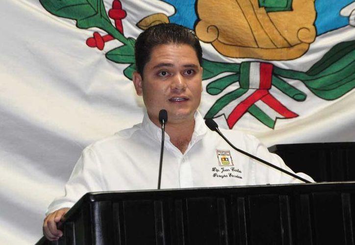 El diputado Juan Carlos Pereyra Escudero, presidente de la Comisión de Asuntos Metropolitanos de la XIII Legislatura. (Redacción/SIPSE)