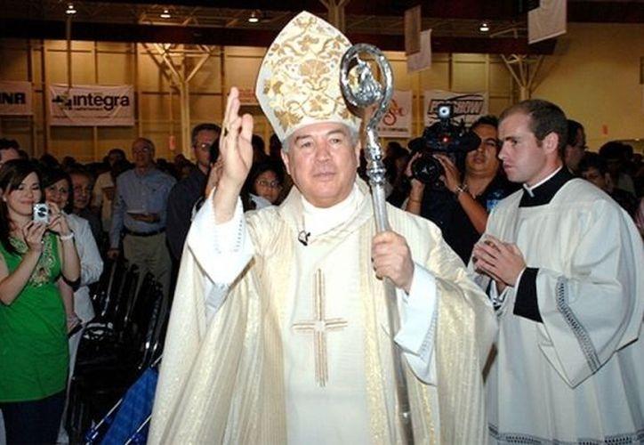 Robles Ortega afirma que el Episcopado contribuirá a mejorar el panorama de violencia en México. (Archivo/Notimex)