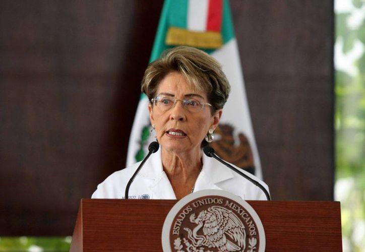 La secretaria de Salud, Mercedes Juan López, informó que los cuatro pacientes que permanecen hospitalizados tienen quemaduras de segundo grado. (Notimex)