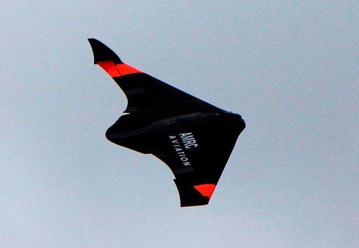 De acuerdo con sus creadores, el dron -impreso en tercera dimensión- ya pasó el primer vuelo de prueba. (sheffield.ac.uk)