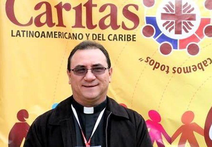 En mayo de 2015, el Pbro. Sarlat Flores tomará el cargo de coordinador de la Zona Centroamérica y México de Cáritas. (Milenio Novedades)