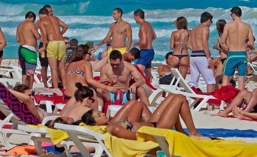 ''La presencia de los uniformados estatales en Cancún es de 120 elementos''. (Archivo/ SIPSE)