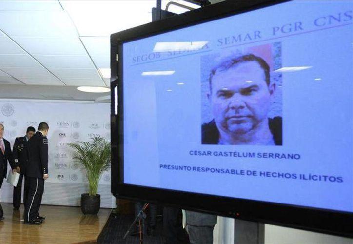 El domingo 12 de abril, el comisionado Nacional de Seguridad, Monte Alejandro Rubido, informó de la detención de César Gastélum Serrano, ocurrida en Cancún, Quintana Roo, el día anterior. (www.diarioextra.com)