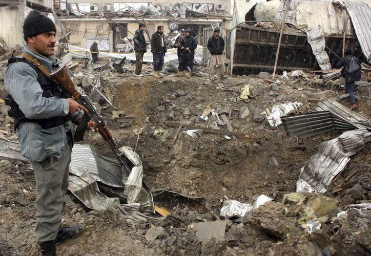 La mayor amenaza para los civiles en Afganistán el año pasado fueron los artefactos explosivos improvisados. (Archivo/EFE)