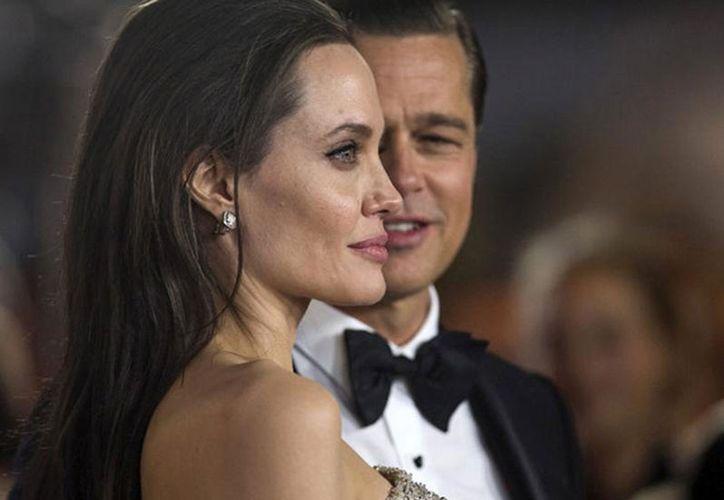 Angelina Jolie y Brad Pitt se verán las caras durante el juicio por la custodia de sus hijos, el 4 de diciembre próximo. (AP)