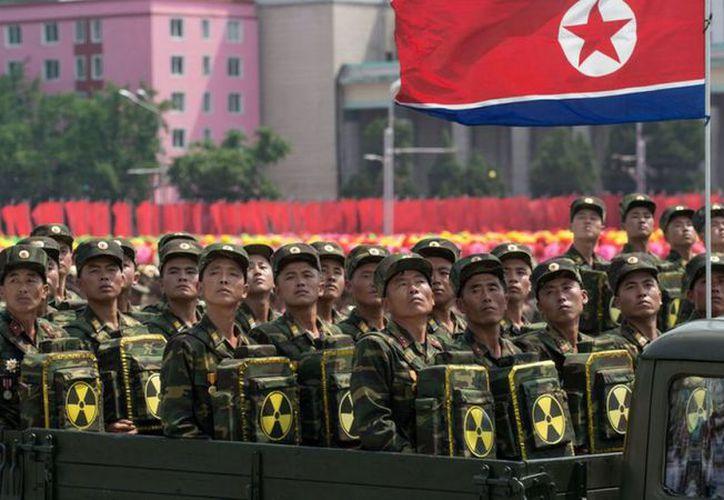 Donald Trump, se adhiere a la idea de no permitir que el líder norcoreano desarrolle su programa balístico y nuclear. (T13)