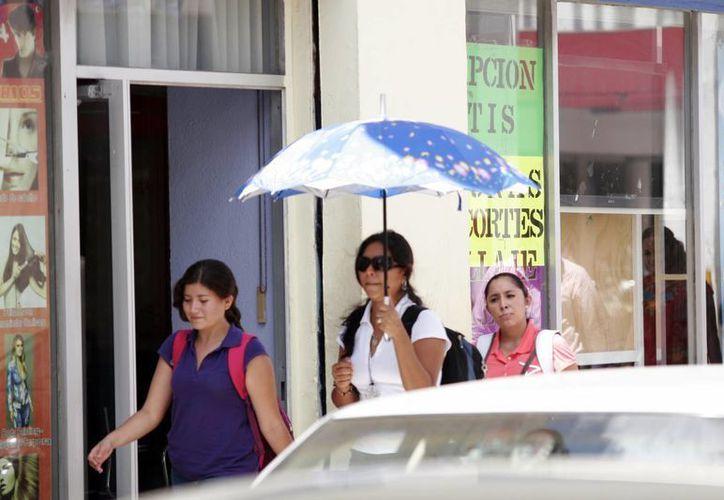 Pronostican que continuarán las altas temperaturas en estos días. (Christian Ayala/SIPSE)