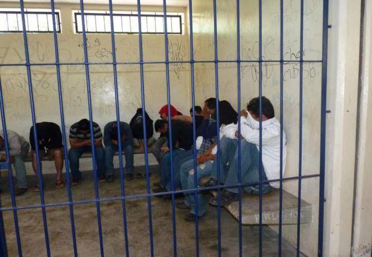 El Centro de Retención Municipal ha detenido a más de 57 mil infractores en esta administración (Archivo/SIPSE)