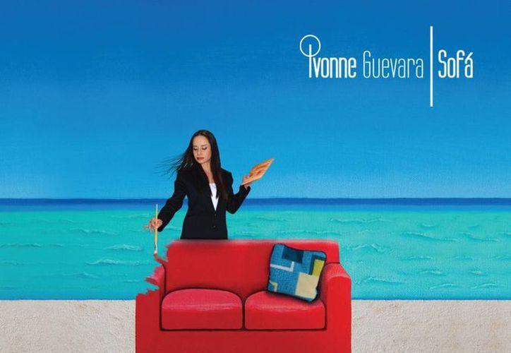 La ex integrante de flans Ivonne Guevara vuelve a los escenarios como solista, con el disco 'Sofá'.  (Foto Facebook)