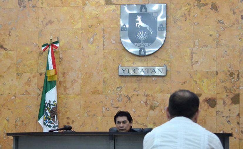 El juez de control decretó prisión preventiva por 7 meses para el acusado de matar a su exnovia, en Peto, Yucatán. (Cortesía del Poder Judicial)
