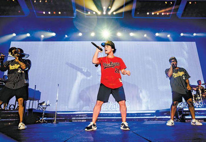 Bruno Mars enloqueció al 'Sol mexicano'. (Ocesa)