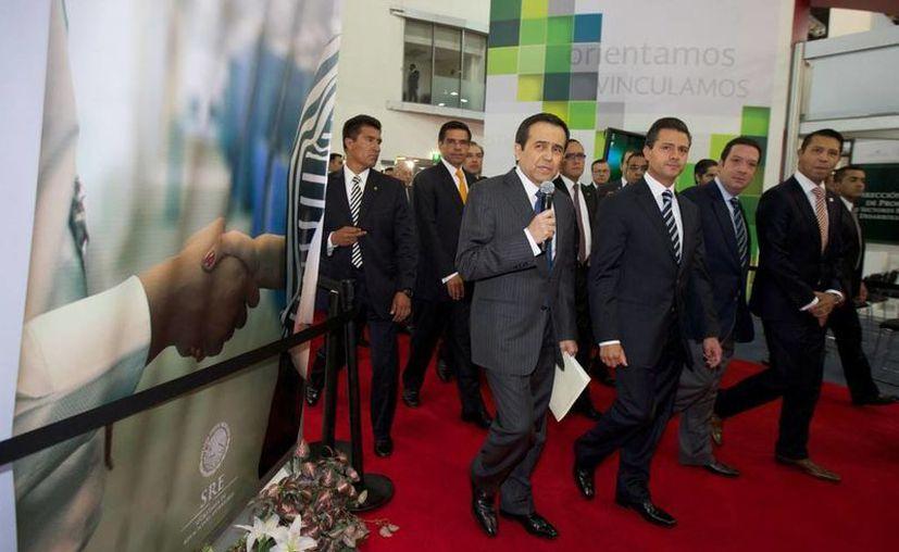 Peña Nieto recordó que solamente un 4% de las Pymes le venden al gobierno. (presidencia.gob.mx)