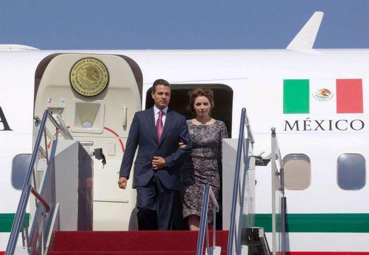 La compra del avión presidencial que estrenará Peña Nieto, y que llegará a México en breve, fue aprobada por el Congreso en 2011. (Archivo/Notimex)