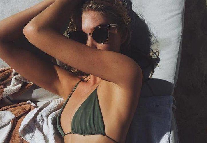 La modelo presumió su figura en Instagram. (Instagram/@hoskelsa)