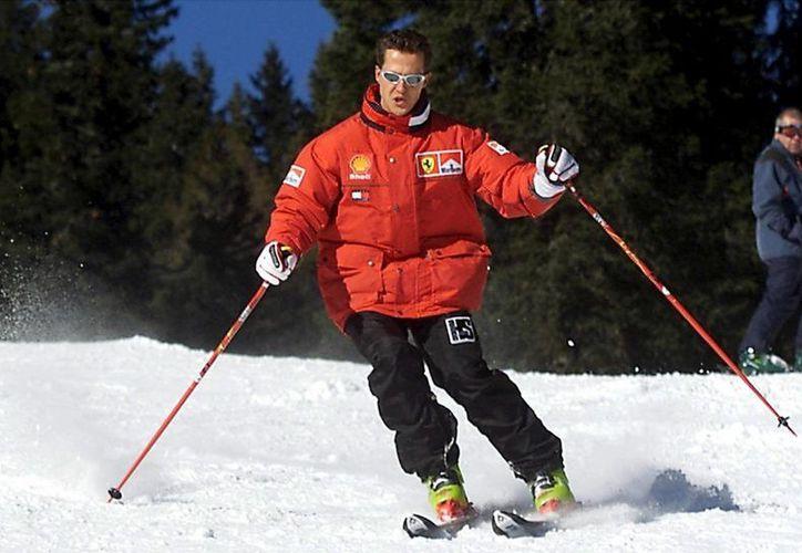 La condición de Schumacher ya no es crítica, pero sí grave. (EFE)