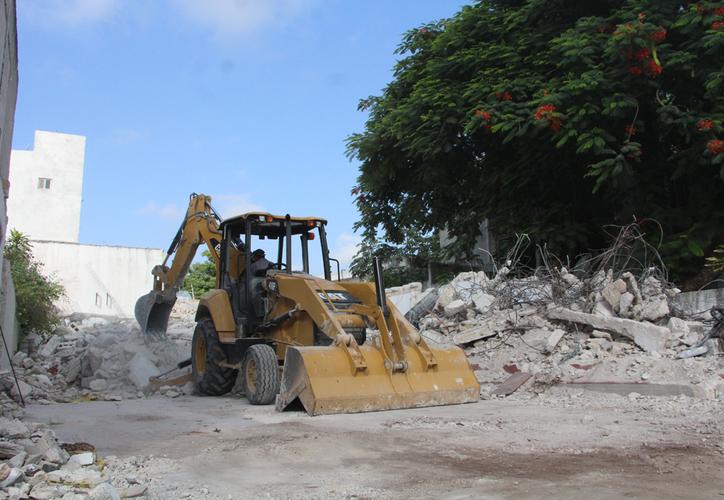 Así quedó el predio tras la demolición. (Paola Chiomante/SIPSE)