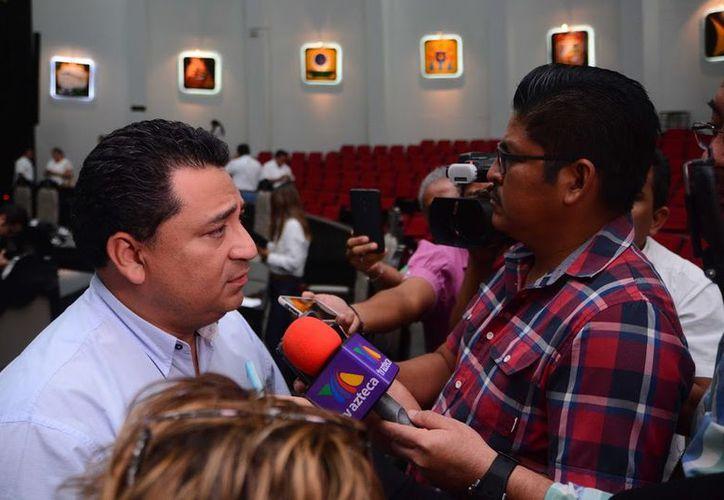 Eduardo Martínez Arcila, diputado presidente de la Gran Comisión, celebró el anuncio del secretario general de Gobierno, Francisco López Mena.