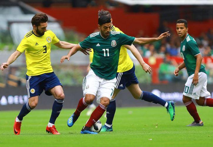 Se disputan amistoso México vs Escocia. (Foto: Twitter)