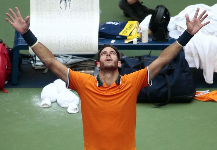El argentino logró en triunfo tras una dura batalla que duró cuatro sets. (vanguardia.com)