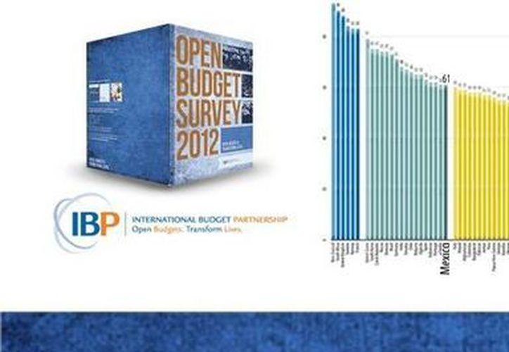 El IBP promueve la adopción de sistemas de finanzas públicas transparentes. (ifai.org.mx)