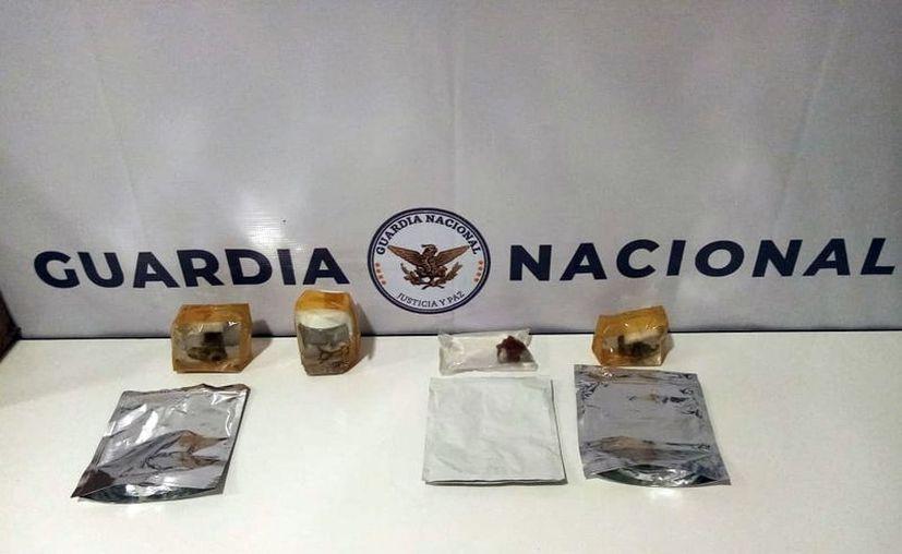 El envío venía de Veracruz, tenía tres bolsas y un frasco. (Novedades Yucatán)