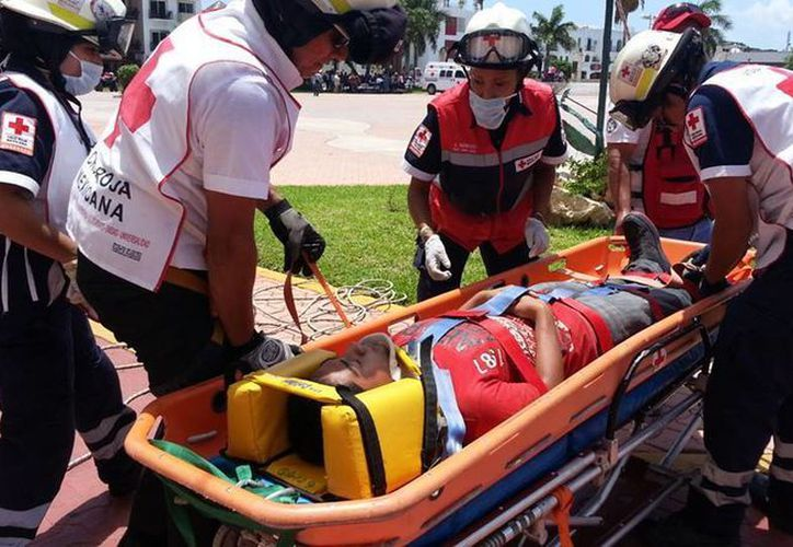 Los empleados de hoteles de la Riviera Maya recibirán capacitación de primeros auxilios por parte de la Cruz Roja. (Octavio Martínez/SIPSE)