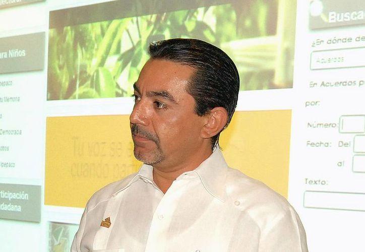 Carlos Pavón dijo que se integran propuestas para presentar a legisladores. (Milenio Novedades)