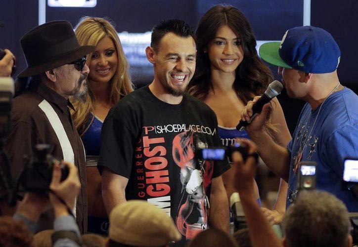 Robert Guerrero (foto) mantiene cierta hostilidad con Mayweather por unos comentarios sobre sus vidas privadas. (Agencias)