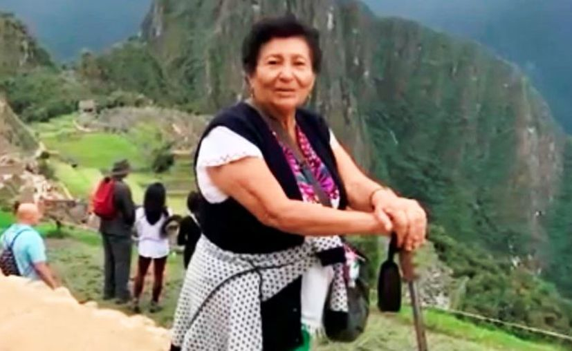 La señora Ethel del Carmen Trujillo Trujillo. (Foto: captura de pantalla de video difundido)