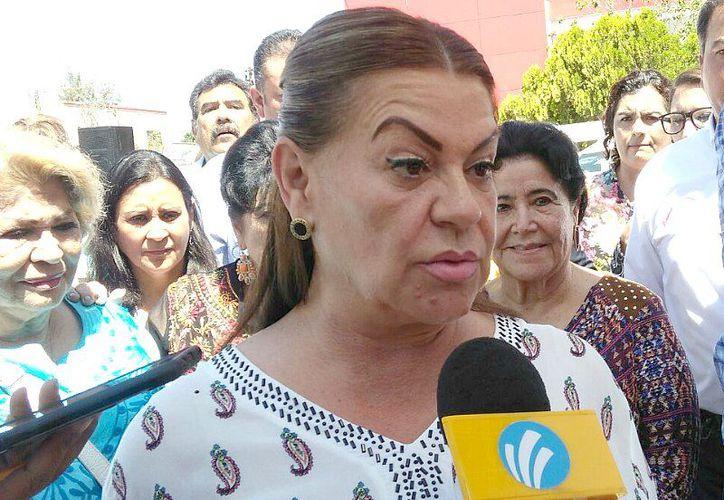 'Con gente tan sucia yo no puedo trabajar' fueron algunas de las palabras de la alcaldesa, sus palabras se ganaron el aplauso de usuarios de redes sociales. (Noticieros Grem)