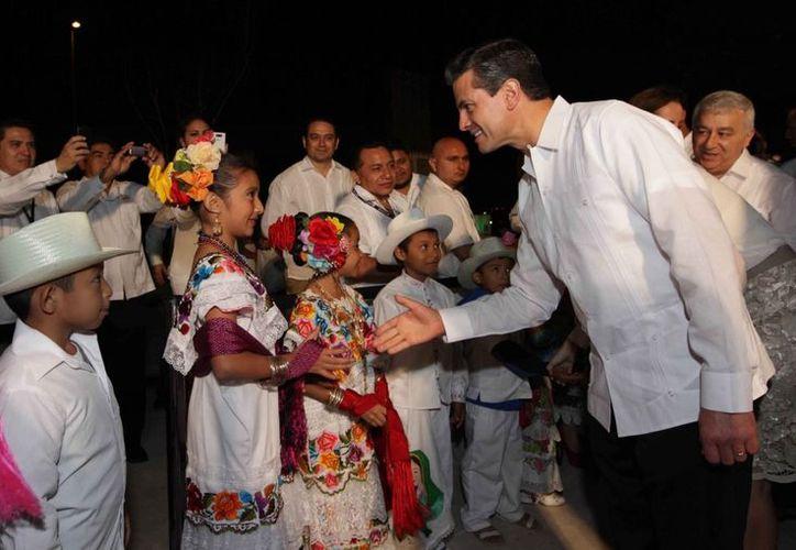 La inauguración del Gran Museo Maya fue una de las últimas actividades realizadas por el presidente Peña Nieto. (presidencia.gob.mx)
