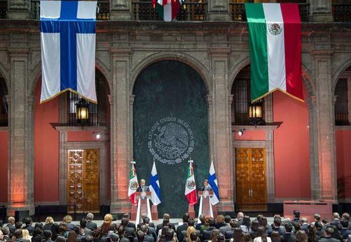 El presidente finlandes reconoció las reformas impulsadas por el presidente Enrique Peña Nieto, dejo entrever que el país nórdico podría invertir en suelo mexicano. (Notimex)