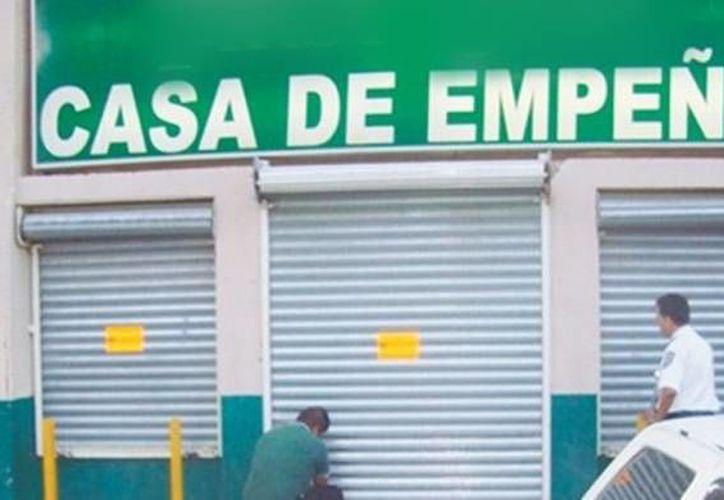 En Yucatán existen 510 casas de empeño, de las cuales sólo 230 están registradas. (Archivo/SIPSE)