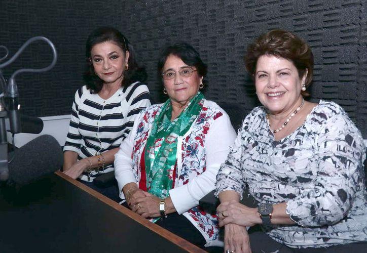 """En esta ocasión """"Salvemos una vida"""" tuvo como invitada a la magistrada Ligia Cortés Ortega, y se abordó el tema de la violencia familiar. (Milenio Novedades)"""