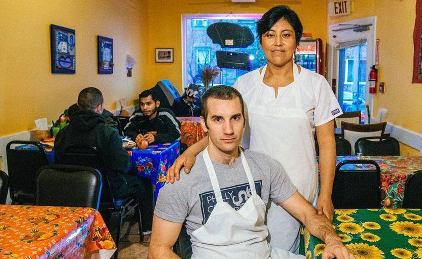 Cristina es dueña de uno de los restaurantes de barbacoa mejor catalogados en Filadelfia, EU. (Agencias)