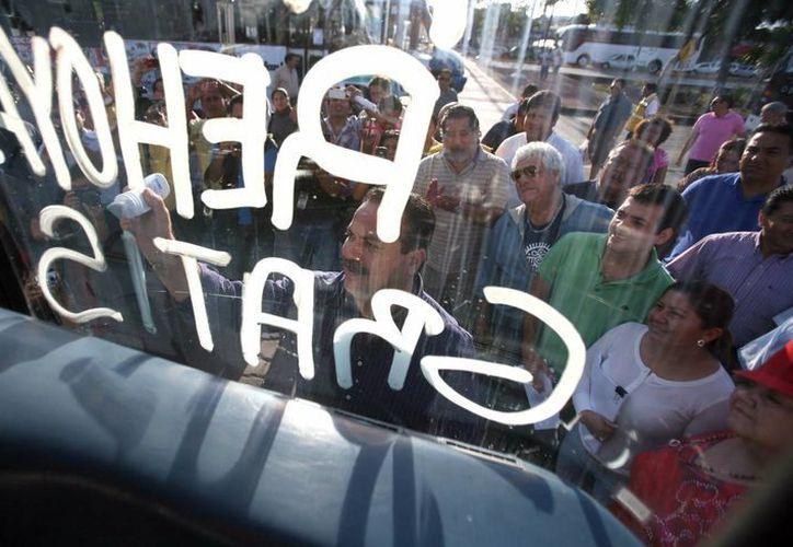 La empresa ADO decidió recuperar sus vehículos para no incurrir en irregularidades. (Redacción/SIPSE)