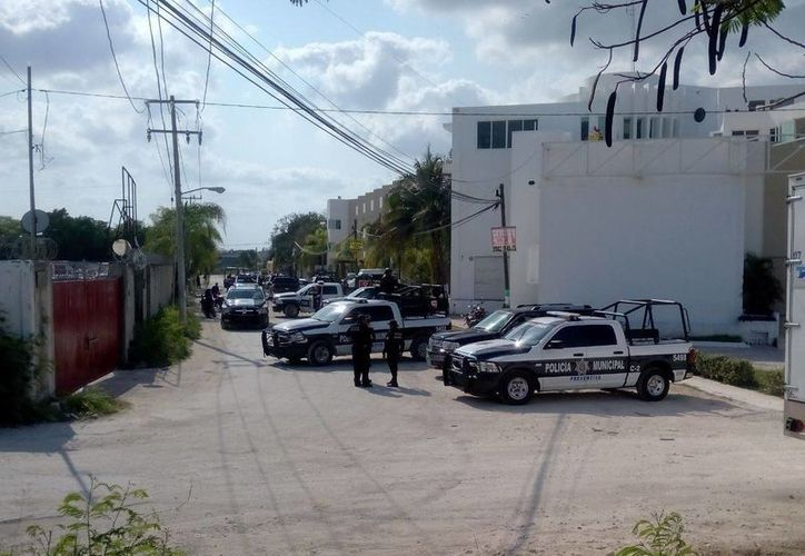 La Policía Municipal se encargó de asegurar el vehículo. (Redacción/SIPSE)