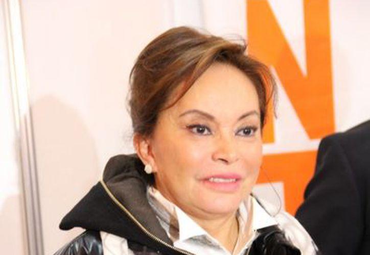 Elba Esther Gordillo realizó un pronunciamiento en el marco de la 35 sesión ordinaria de su Consejo Nacional. (Notimex)