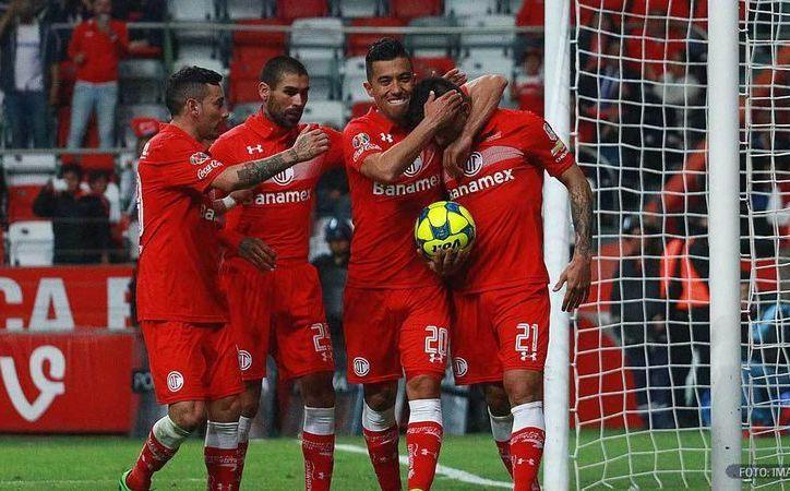 Toluca ganó 3-1 en Copa MX al Celaya, avanzó a octavos de final y mató las últimas esperanzas de Toros por calificar. (Foto tomada de futboltotal.com.mx)